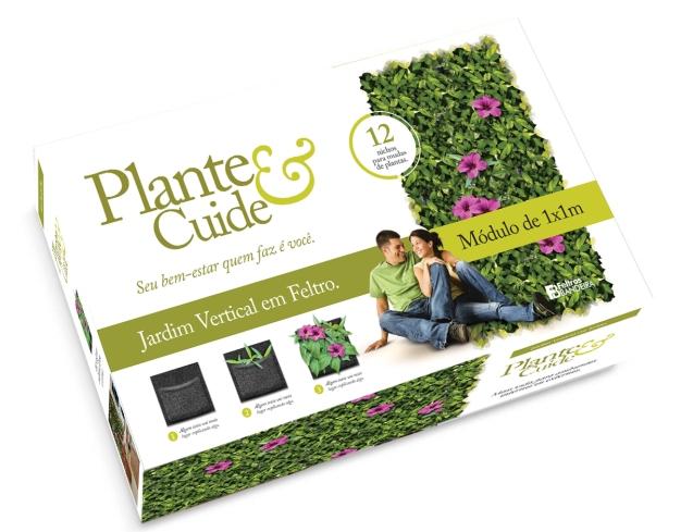 Caixa Plante e Cuide